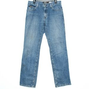 Ariat Mens Jeans Relaxed Fit Heritage Blue 33 K2